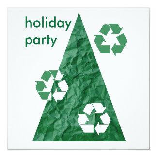 Contemporary Holiday Party Invitation