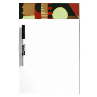Contemporary Loft Style Paneled Painting Dry Erase Board