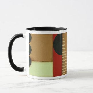 Contemporary Loft Style Paneled Painting Mug