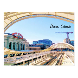 Contemporary Look of Union Station, Denver, CO #1 Postcard