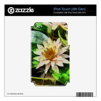 Contemporary Lotus iPod Touch 4G Skins