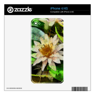Contemporary Lotus Skins For The iPhone 4