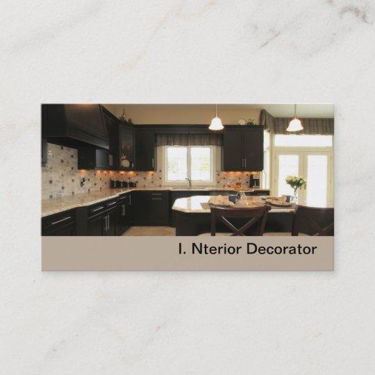 Contemporary Luxury Kitchen Business Card Zazzle Com