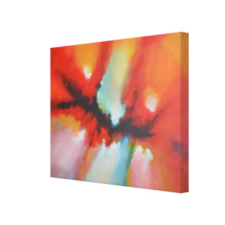 Contemporary Modern Abstract Painting Canvas Print