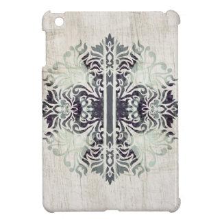 Contemporary Neutral Celtics Cross Hip Pattern iPad Mini Cover