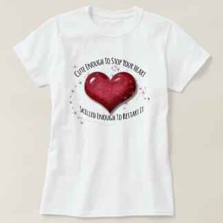 Contemporary Nurse Heart Stopper Shirt