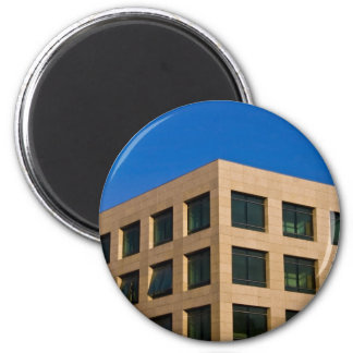 contemporary office building magnet