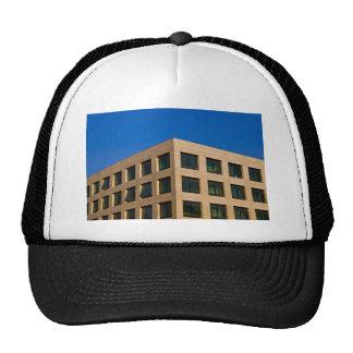 contemporary office building trucker hat