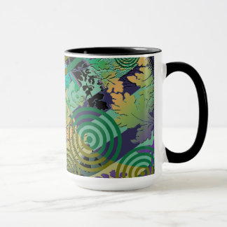 Contemporary  Pop Art, Retro Vintage Mug