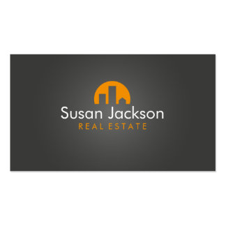 Contemporary Real Estate Business Card