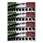 Contemporary Roman Coliseum 2x6 Custom Labels Cards
