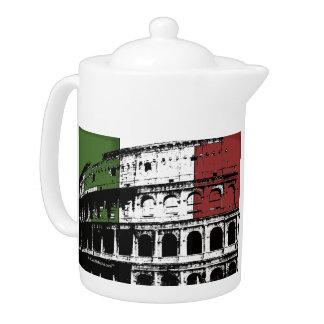 Contemporary Roman Coliseum Silhouette Teapot
