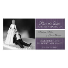 Contemporary Save The Date Announcement at Zazzle