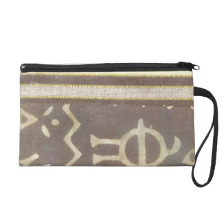 Contemporary Tribal Pattern Painting Wristlets