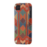 Contemporary Turkish Kilim Pattern Case-Mate iPhone 4 Cover