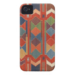 Contemporary Turkish Kilim Pattern Case-Mate iPhone 4 Cases