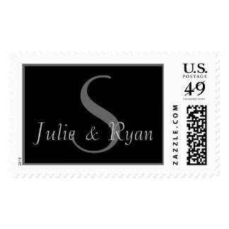 Contemporary Two Names and Initial S Postage