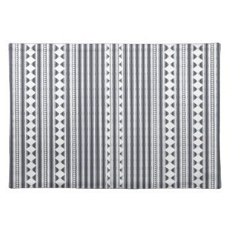 Contemporary Zigzag Patterned Placemat