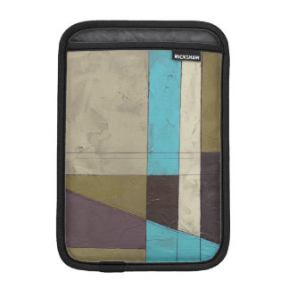 Contemporay Minimalist Painting with Deep Color iPad Mini Sleeve