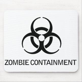 Contención del zombi alfombrillas de ratones