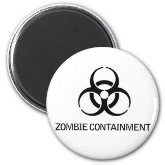 Contención del zombi imán redondo 5 cm