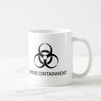 Contención del zombi taza de café