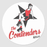 Contenders Round Stickers