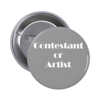 Contendiente o artista pin