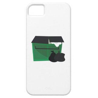 Contenedor de la basura funda para iPhone 5 barely there