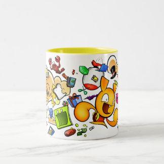 Contenedor líquido portátil taza de café