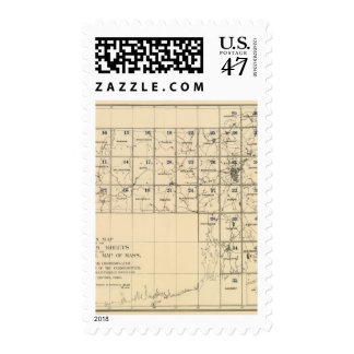 Contenido al atlas de Massachusetts Timbre Postal