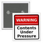 Contenido bajo Pin de la presión