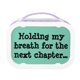 Conteniendo mi respiración para el capítulo