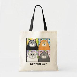 Content Cat Bag