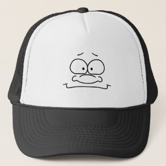 Content Funny Face Trucker Hat