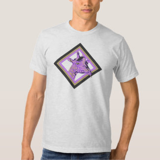 Content Giraffe (Purple) T-shirt