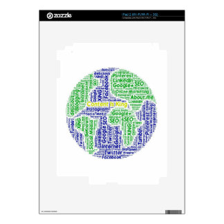 content-is-king word-cloud Social Media Text Skins For The iPad 2