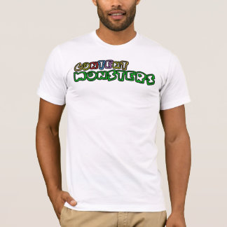 Content Monsters primary white T-Shirt