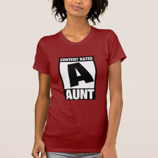 Content Rated Aunt T-Shirt