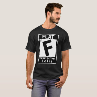 Content Rated Flat Loli Anime Shirt