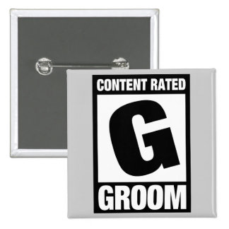 Content Rated G: Groom Buttons