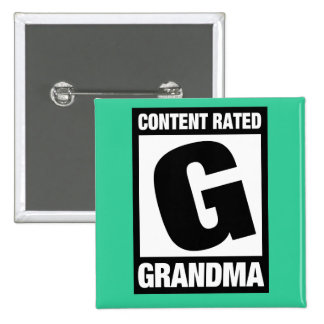 Content Rated Grandma Button