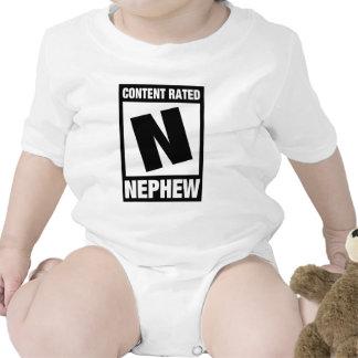 Content Rated Nephew Bodysuit
