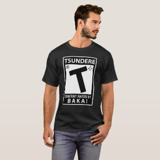 Content Rated Tsundere Anime Shirt