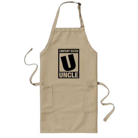 Content Rated Uncle Long Apron