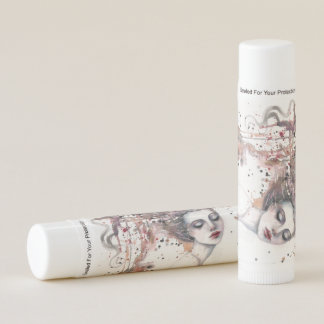 Content Woman Boho Fantasy Art by Molly Harrison Lip Balm