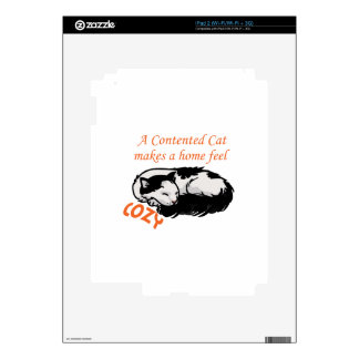 Contented Cat Skins For The iPad 2