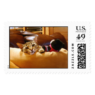 Contented Kitty Postage