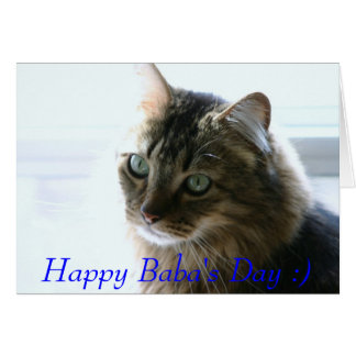 contentment, Happy Baba's Day :) Card