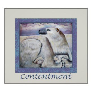 contentment poster